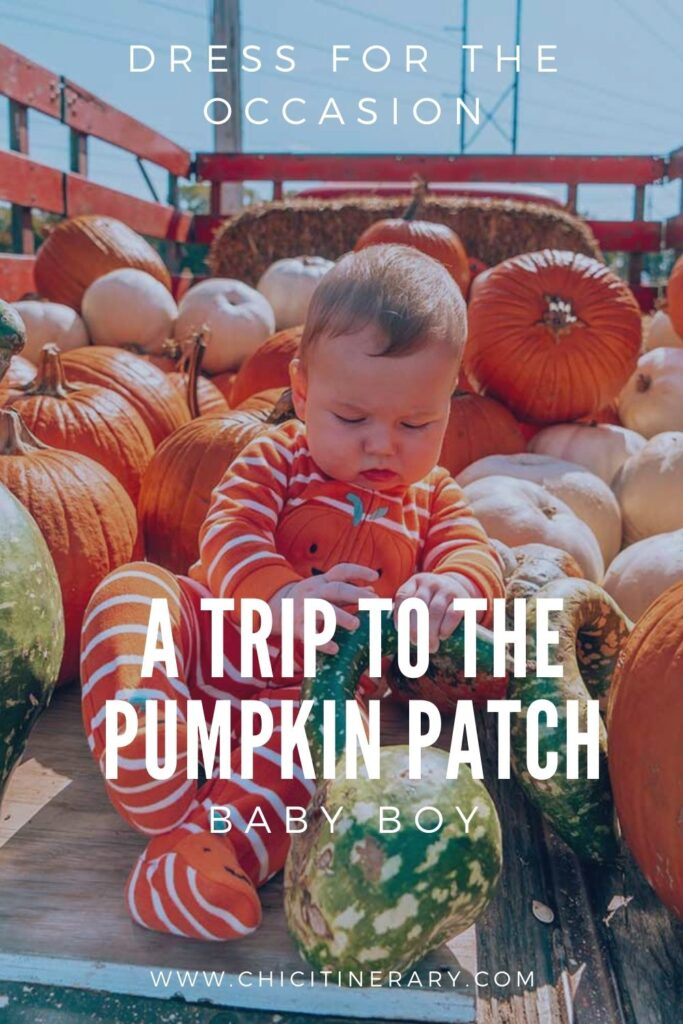 Perfect Baby Outfits for the Pumpkin Patch Photoshoot
