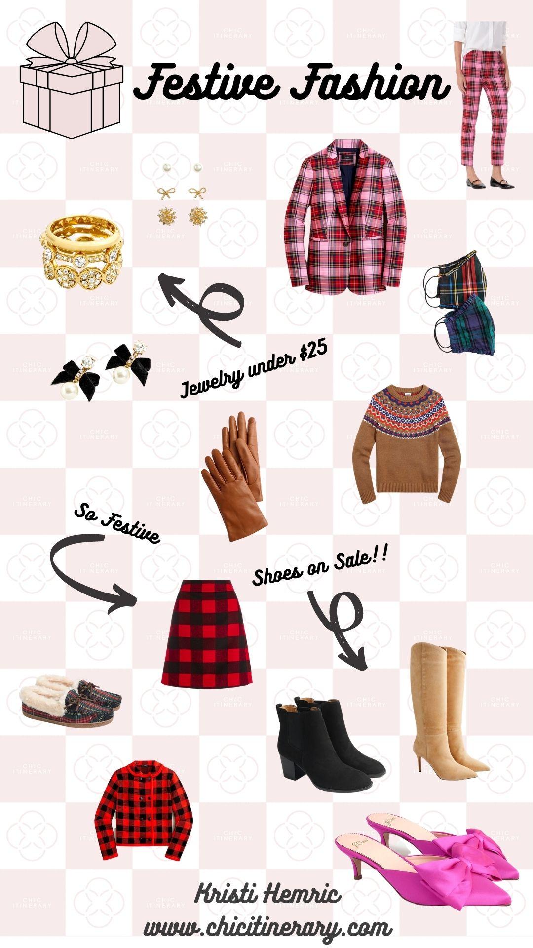 Festive Fashion Gift Guide for Holiday 2020 from Kristi Hemric (Instagram: @khemric)