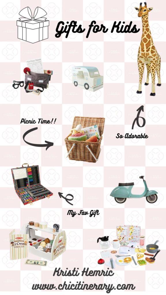 Gifts for Kids Gift Guide for Holiday 2020 from Kristi Hemric (Instagram: @khemric)