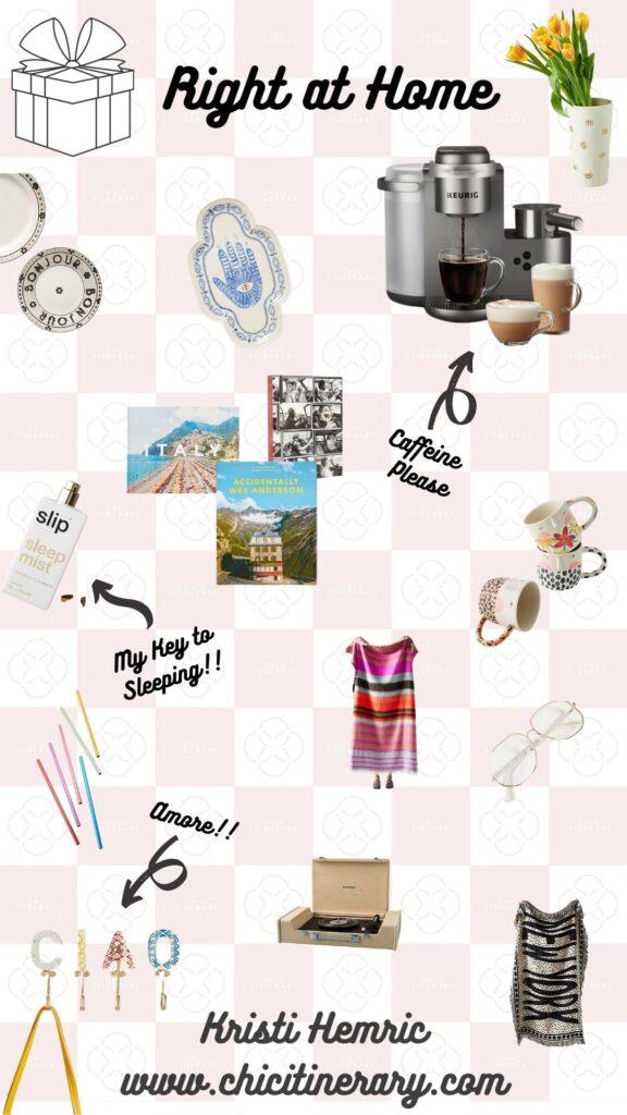 Right at Home Gift Guide for Holiday 2020 from Kristi Hemric (Instagram: @khemric)